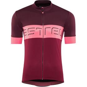 Castelli Prologo VI Maillot de cyclisme Homme, barbaresco red/pink/granata red